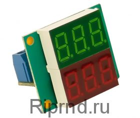 Ампер-вольтметр-ваттметр постоянного тока ВАВПТ2-036-v